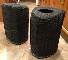 YAMAHA StagePas 600i 600BT Padded Black Custom Covers (2)  Qty of 1 = 1 Pair!