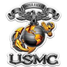 Marine Corps Eagle Globe & Anchor Usmc Car Truck Window Decal Semper Fidelis