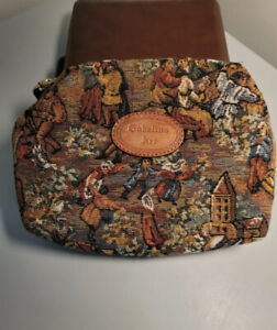 Goblins Art Brussels Tapestry Pouch Clutch