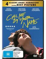 Call Me By Your Name (DVD, 2018) Region 4