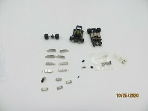 HO Slot Car Parts Lot Pick Up Shoes Guide Pin Springs Life Like Tomy or Tyco