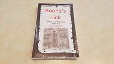 Boone's Lick - Book By Lewis B. Miller