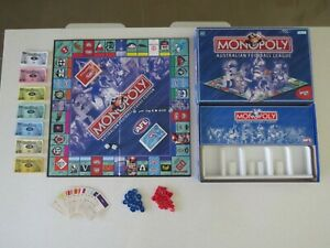 """Early Version MONOPOLY """"AFL"""" Edition - Hasbro 1999 - Complete"""