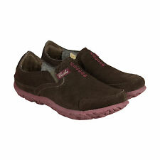 Cushe W Slipper II Womens Brown Suede Thermo Casual Dress Loafers Shoes 5