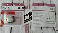 Birch Magnetic Seam Guide for sewingmachine sew curve/straight seam FREEPOSTAU