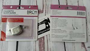 Birch Magnetic Seam Guide for sewingmachine sew curve/straight seam