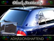 Black-Statically Statisch haftene Auto Tönungsfolie 76x300cm tiefschwarz schwarz