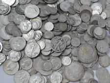 1 Standard Ounce 90% Silver Junk Coins 1 Half Dollar Included Bullion Lot