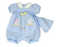 Sale! 40% Off! Baby Girls Smocked Romper Bandana Spanish Style 3-6 6-9 Months