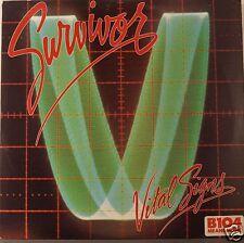 "SURVIVOR  ""VITAL SIGNS""  SCOTTI BROTHERS RECORDS  FZ-39578  EX/EX promo"