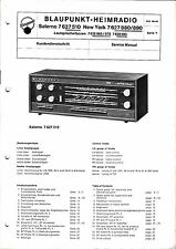 Service Manual Blaupunkt Salerno 7 627 510,New York 7 627 880,890