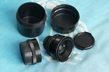 JUPITER-12 Black 35mm f2.8 lens M39 LTM Leica Zorki FED  Biogon Copy *