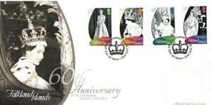 FALKLAND ISLANDS 2013 60TH ANNIVERSARY OF CORONATION FDC PORT STANLEY