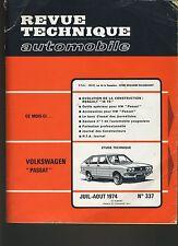 (44A)REVUE TECHNIQUE AUTOMOBILE VOLKSWAGEN PASSAT / RENAULT 16TS