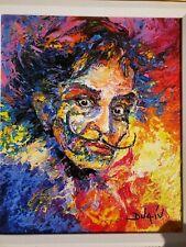 Duaiv Painting (Dali Folie ) Giclee on Canvas Hand Embellished Signed 157/450