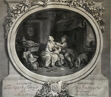 La gaieté conjugale Nicolas de Launay (1739-1792) Sigmund Freudeberg (1745-1801)