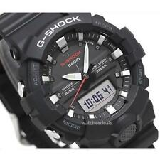 CASIO G-SHOCK, GA800-1A GA-800-1A, ANALOG DIGITAL, COMPACT CASE, BLACK MATTE