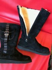UGG Australia Tall Women's Boots  (RRP £210) UK6.5 (fits UK 5 & 5.5) Black
