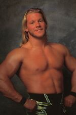 CHRIS JERICHO Official WCW 4x6 Photo Card New Wrestler Wrestling wwe tna indy