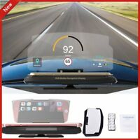 6.5'' Car HD Holder Head Up Display Projector Bracket For GPS Navigation Phone U