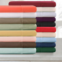 Leonora 300-Thread Count 100% Egyptian Cotton Lightweight Solid Duvet Cover Set
