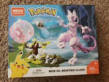Mega Construx Pokémon Mew Vs. Mewtwo Block 341 Piece FVK77