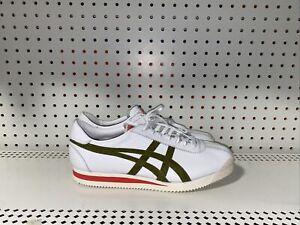 ASICS Onitsuka Tiger Corsair Mens Athletic Lifestyle Shoes Size 10.5 White Green