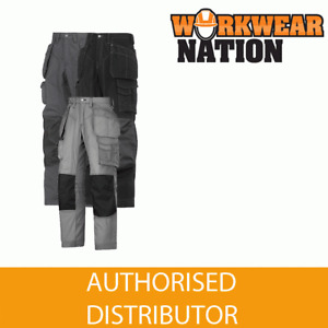 Snickers 3223 Floorlayer Holster Pocket Knee Pad Trousers, Rip-Stop