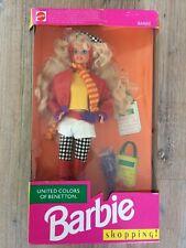 💕Barbie 💕shopping! 💚 Benetton 💚1991 Mattel Vintage Ratität Puppe Fashion