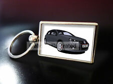 VOLKSWAGEN GOLF GTI EDITION 30 METAL KEY RING. CHOOSE YOUR CAR COLOUR