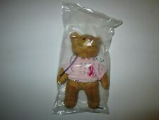 Avon Breast Cancer Crusade Plush Bear New in Plastic Bag