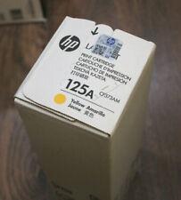HP 125A Yellow Original LJ CP1215, CM1312, CP1514, CP1518 Toner Cartridge CB542A