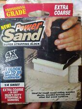 Power Sand Super Stripping Block Extra Coarse 36 grit 4X faster sanding sander