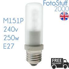 250w ES Modelling Bulb Bowens Elinchrom Interfit 240v E27 64480 Halogen M151P