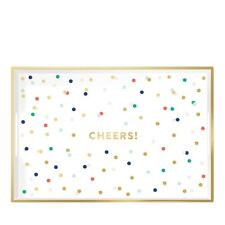 NEW Cheers Lacquered Tray by Fringe Studio Pop Sugar Must Have Box August 2017