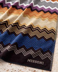 Missoni SALE beach towel SETH zigzag stripes 100x180 cm