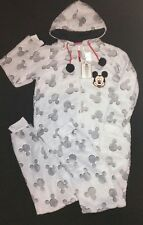 Primark Disney Mickey Mouse Onesie One Piece Sleepsuit Pyjamas Size L (14-16)