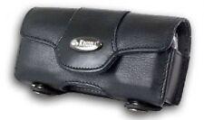Krusell Horizon Multidapt Black Leather Universal Mobile Phone Case XS (95182)