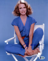 SHELLEY HACK SIGNED AUTOGRAPHED 8x10 PHOTO TIFFANY CHARLIE'S ANGELS BECKETT BAS
