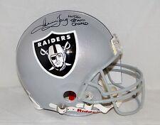 Howie Long Autographed F/S Raiders ProLine Helmet W/ HOF SB Champ- JSA W Auth