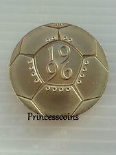 1996*UNC*EUROPEAN FOOTBALL £2 TWO POUND COIN