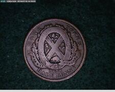 1837 1/2 Penny Providence Du Bas Canada (67s172 )