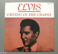 "Elvis Presley - Crying In The Chapel / I Believe...  RCA 7"" > UK 70's Reissue <"