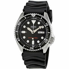 Seiko SKX007 K1 Black Men's Automatic Analog Divers Watch with Seiko Box