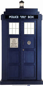 DOCTOR WHO THE TARDIS (2/3 LIFESIZE) CARDBOARD CUTOUT