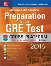 McGraw-Hill Education Preparation for the GRE Test 2016, Cross-Platform Edition
