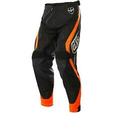 Troy Lee Designs SE Corse MX Motocross Pants Black Orange Size 32