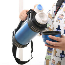 2000ML Stainless Steel Travel Mug Tea Water Coffee Bottle Vacuum Thermos Cup