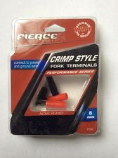 Fierce Audio FTS4  4 AWG Crimp-Style Fork Terminal - Nickel Plated