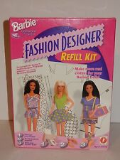 Mattel 1997 Barbie Fashion Designer Refill Kit **SEALED**